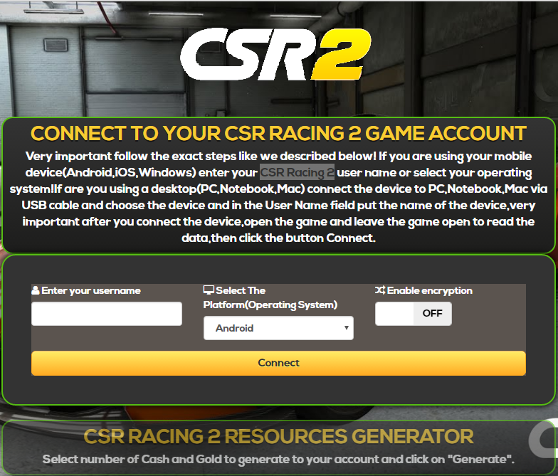 how to get free coins and money on csr racing android