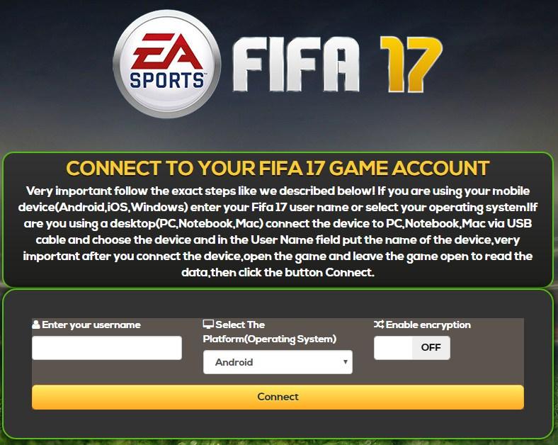 fifa 17 coins account
